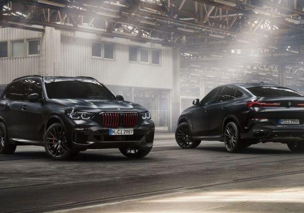BMW X5 ET BMW X6 Edition Black Vermilion.