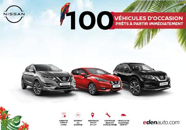 100 véhicules d'occasion prêts à partir immédiatement ! - Edenauto le 15 juil. 2021
