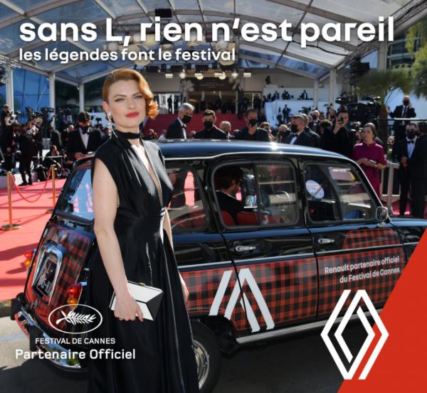 Renault partenaire officiel du Festival de Cannes