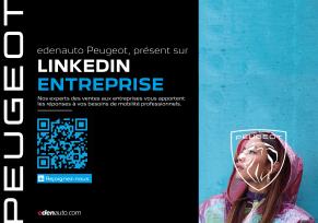 : Suivez l'aventure edenauto Peugeot sur LinkedIn !