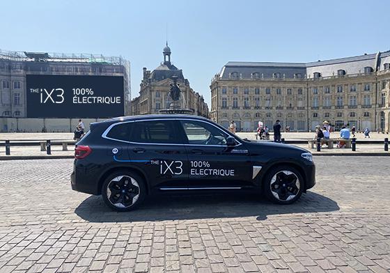 Découvrez la dernière BMW iX3