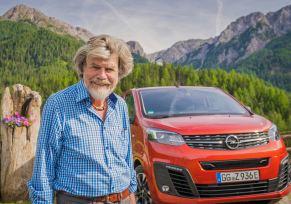 : Les vans électriques Opel, et Reinhold Messner au sommet !