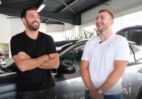 : Kevin Gourdon et Pierre Bourgarit x edenauto Nissan La Rochelle