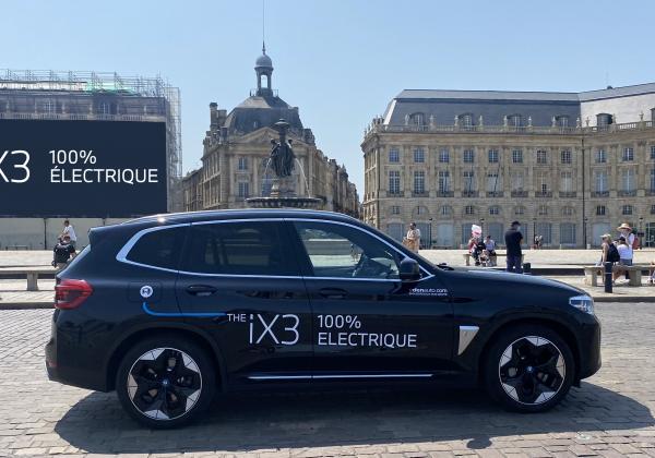 Nouvelle BMW iX3 à Bordeaux
