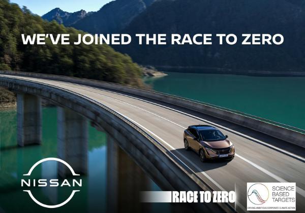 Race to Zero : Nissan vise le 100% électrique dès 2030 - Edenauto le 6 sept. 2021