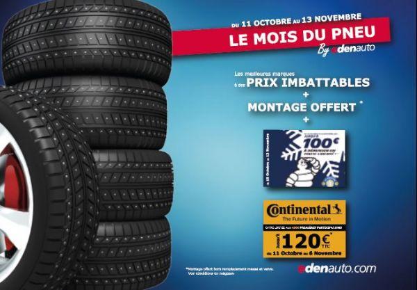 Le mois du pneu chez edenauto ! - Edenauto le 23 sept. 2021