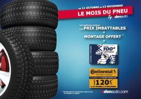 Le mois du pneu chez edenauto !