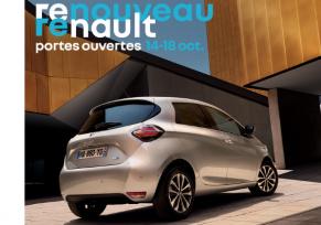 Renouveau Renault : Portes Ouvertes du 14 au 18 oct