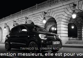 Twingo SL Urban Night : La citadine pour les hommes !
